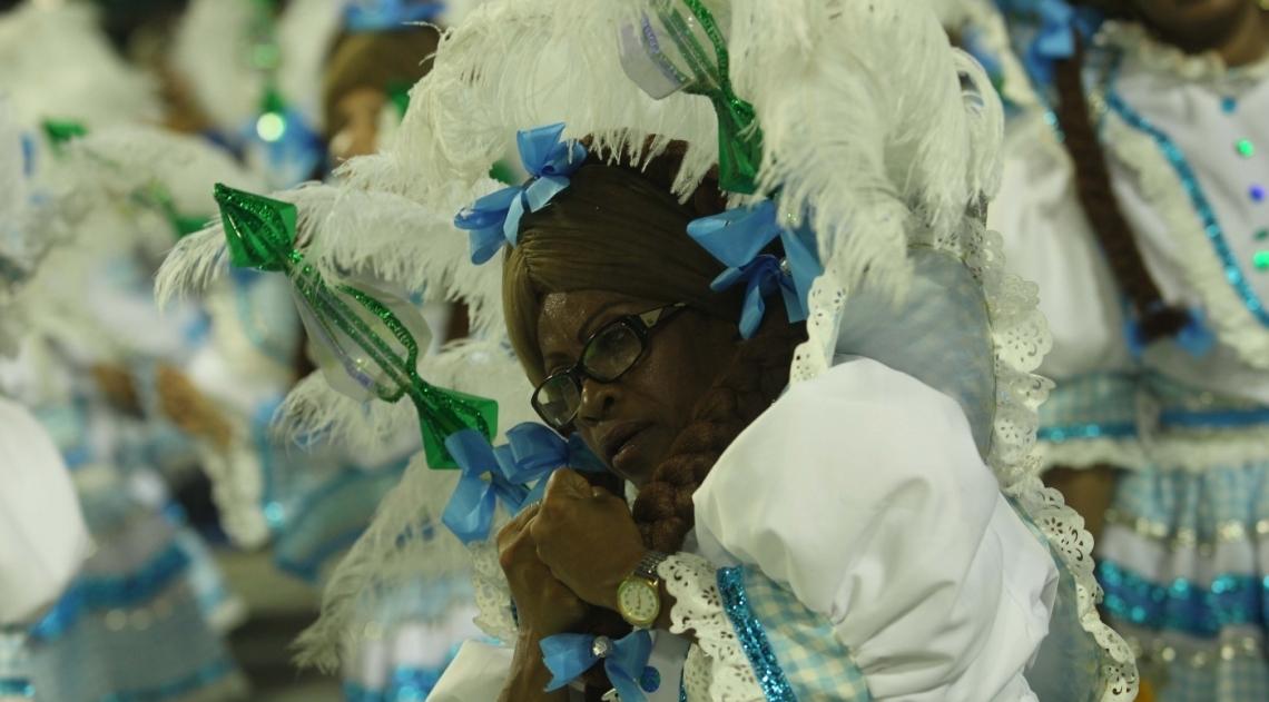 Carnaval 2018 - Desfile das Escolas do Grupo A na Marques de Sapuca�. G.R.E.S. Academicos de Santa Cruz