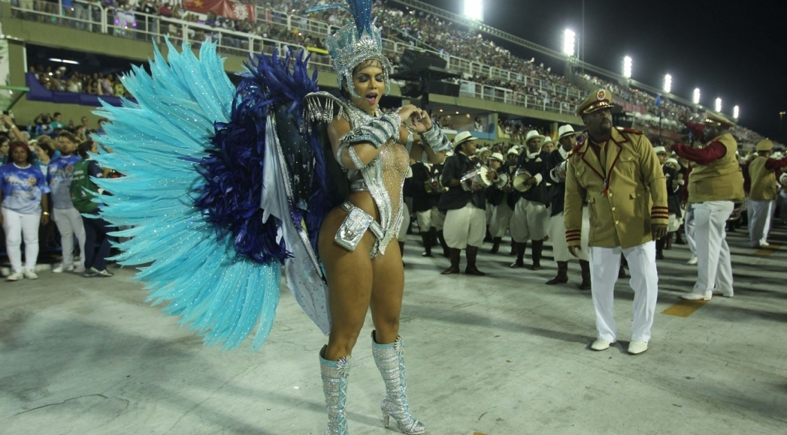 Carnaval 2018 - Desfile das Escolas do Grupo A na Marques de Sapuca�. G.R.E.S. Unidos do Viradouro