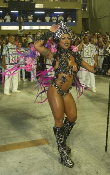 Carnaval 2018 - Desfile das Escolas do Grupo A na Marques de Sapuca�. G.R.E.S. Academicos da Rocinha