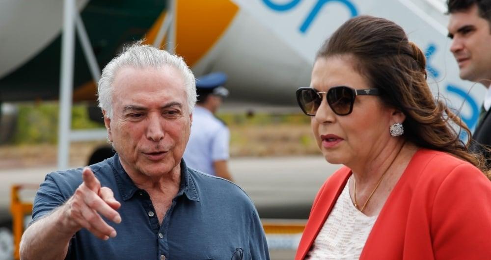 Michel Temer encontrou a governadora de Roraima, Suely Campos, para tratar da crise de refugiados