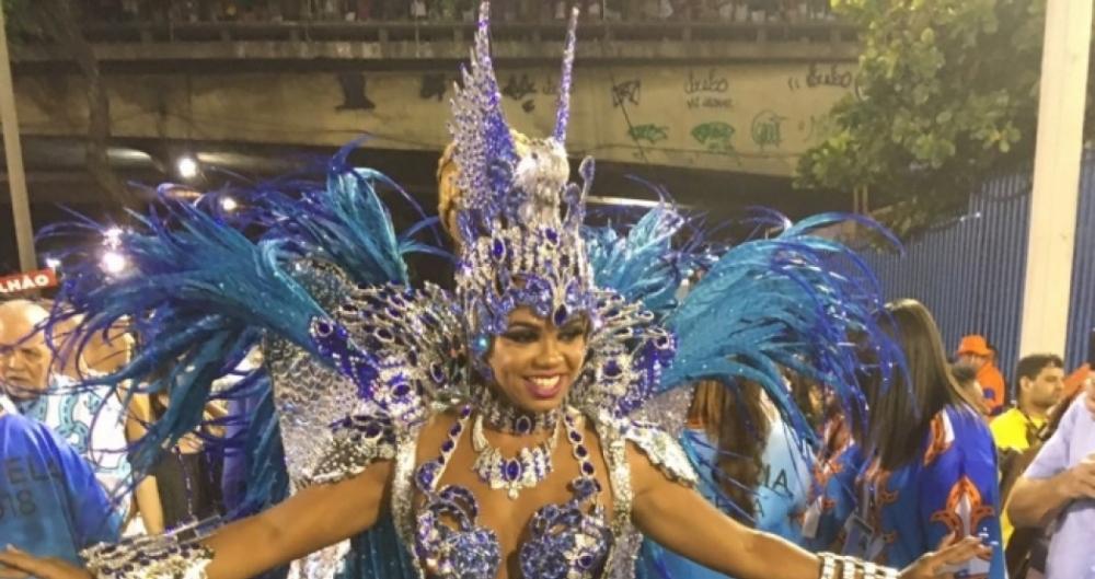 Bianca Monteiro � a rainha de bateria da Portela