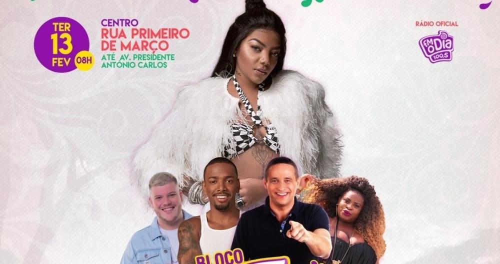 Cantora estreia o Fervo da Lud na folia carioca ao lado de um time de peso