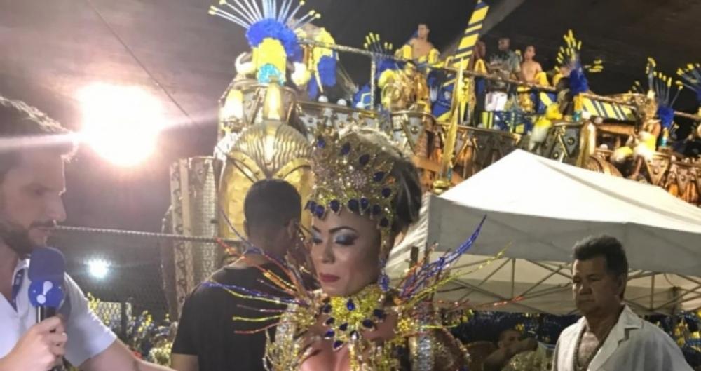 Mila Ribeiro, 34 anos, musa da Tuiuti: 'boa forma � fundamental'