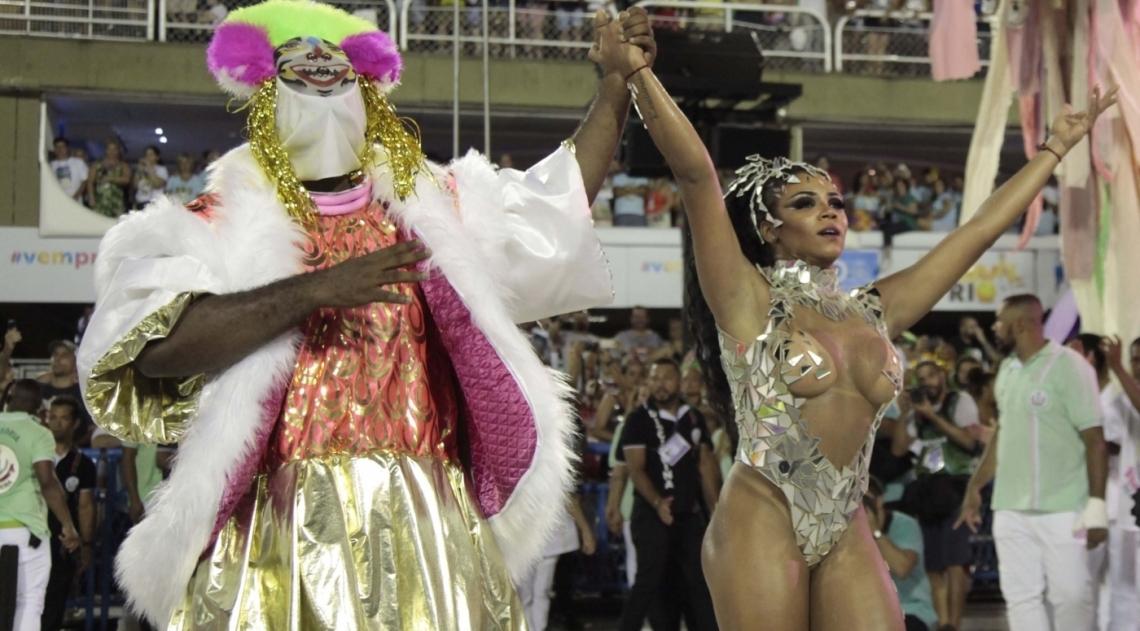 Carnaval 2018 - Desfile das Escolas de Samba do Grupo Especial na Marques de Sapuca�. G.R.E.S. Esta��o Primeira de Mangueira