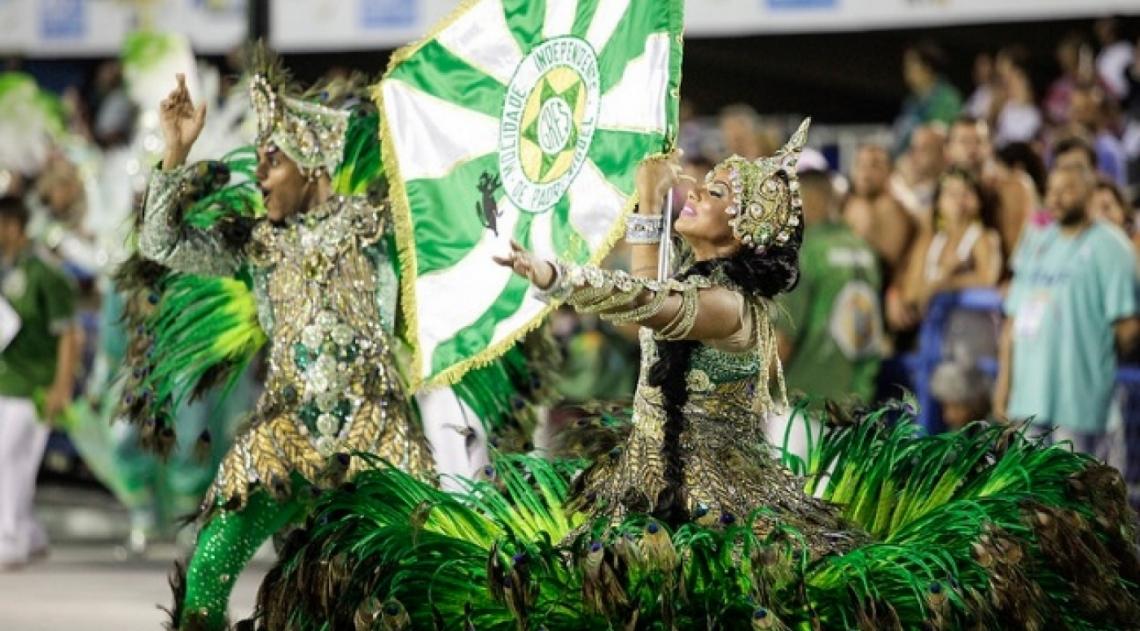 Agremiação fez um belo desfile na Sapucaí