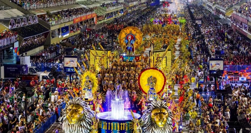 Para�so do Tuiuti conquistou tr�s pr�mios do Tamborim: escola de ouro, samba do ano e comiss�o sensa��o