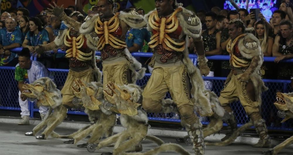 Desfile da Beija-flor, campeã do Grupo Especial