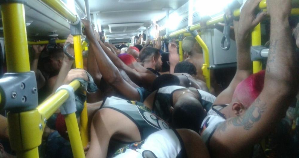 Bate-bolas detidos no Centro do Rio