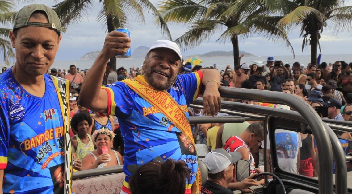 Banda de Ipanema homenageou Martinho da Vila