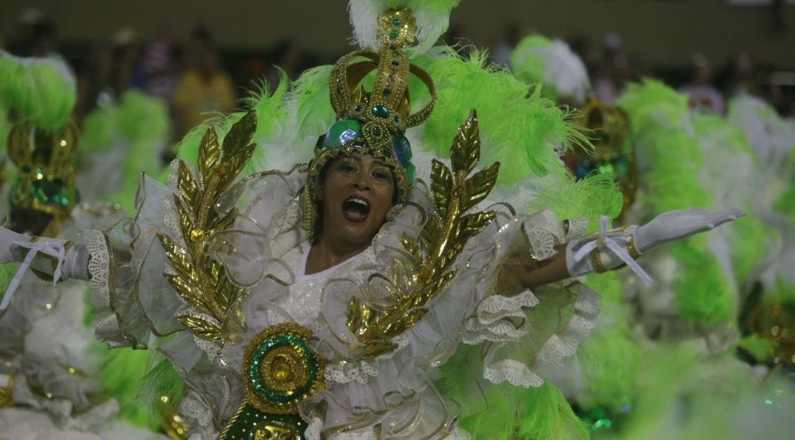 Samba foi destaque da Imperatriz