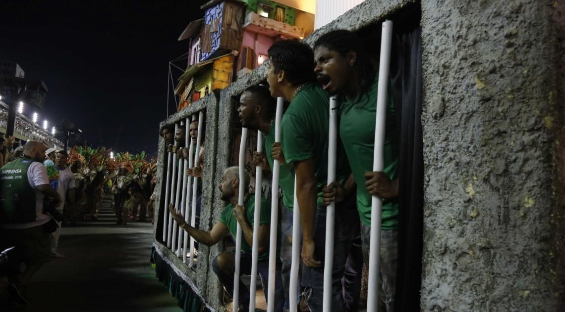 Carnaval 2018 - Desfile das Escolas de Samba do Grupo Especial na Avenida Marques de Sapucaí. G.R.E.S. Beija-Flor d Nilópolis