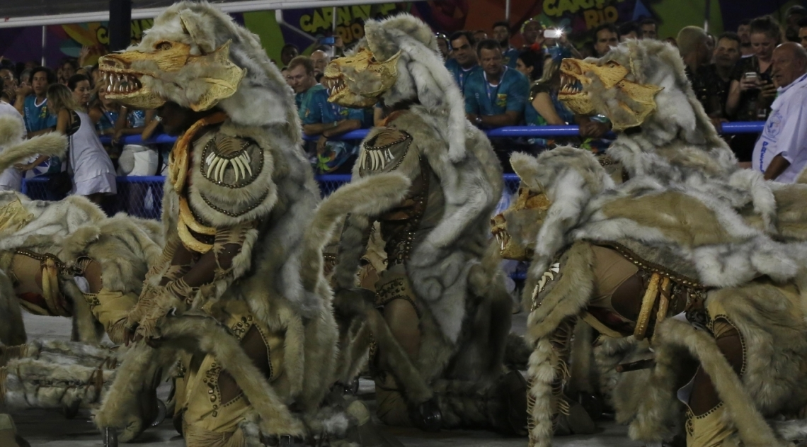 Carnaval 2018 - Desfile das Escolas de Samba do Grupo Especial na Avenida Marques de Sapucaí. G.R.E.S. Beija-Flor de Nilópolis