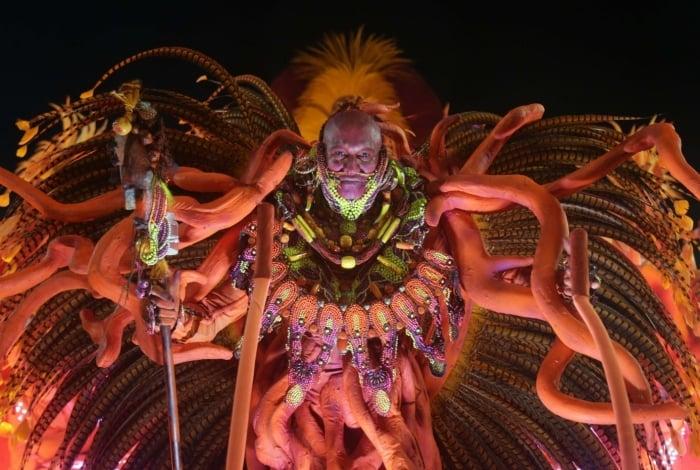 Carnaval 2018 - Desfile das Escolas de Samba do Grupo Especial na Avenida Marques de Sapucaí. G.R.E.S.  Academicos do Salgueiro