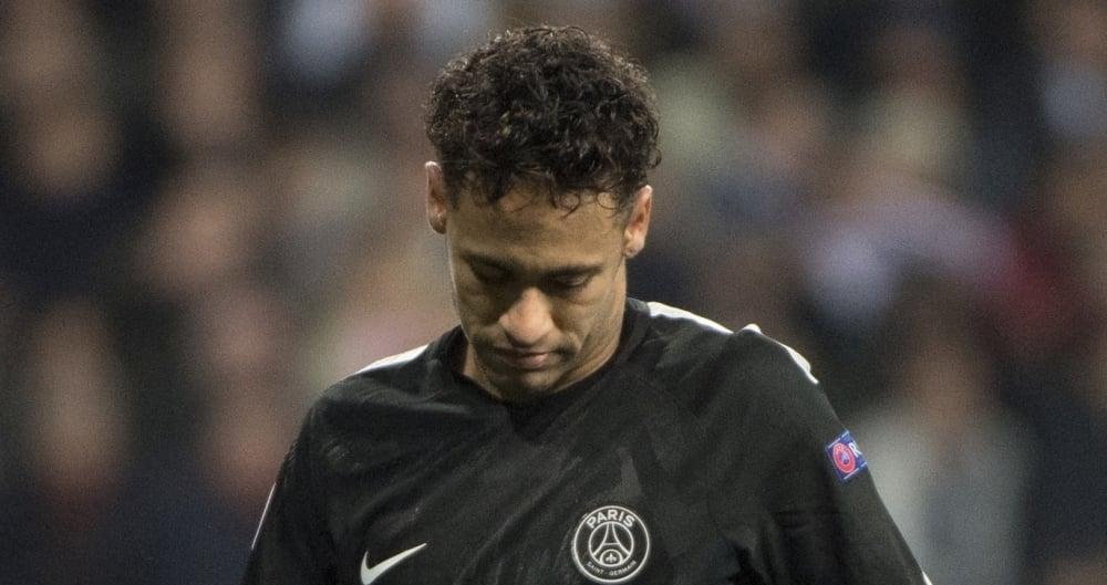 Neymar atualmente defende o PSG