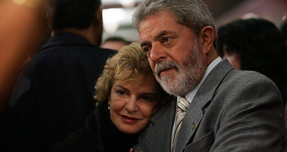 Dona Marisa Leticia e Lula