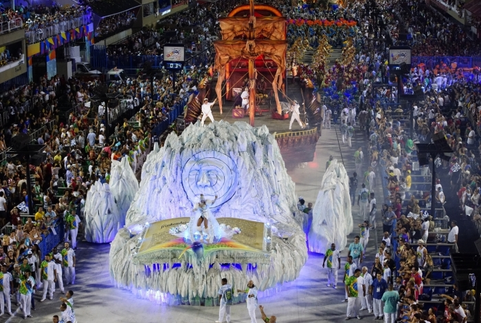 12.02.2018 - Carnaval Rio 2018 - Desfile na Sapucaí - Beija-flor - Grupo Especial - Fernando Grilli | Riotur