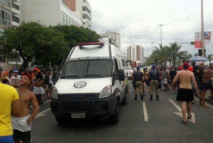 Guarda Municipal detém 180 pessoas durante o Carnaval