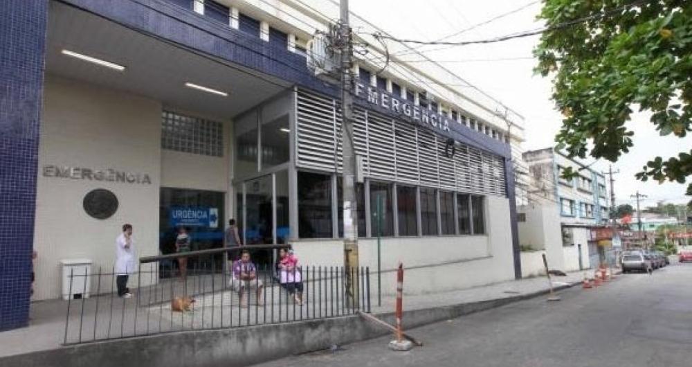 Hospital Estadual Get�lio Vargas tamb�m foi atingido pela chuva