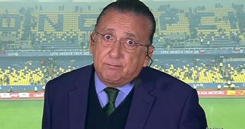 Galvão Bueno é narrador da TV Globo