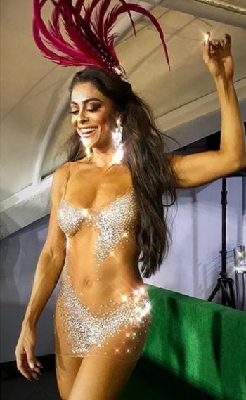 Juliana Paes conseguiu 688 mil curtidas