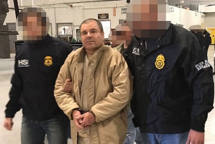 El Chapo foi condenado à prisão perpétua, acusado de liderar um império criminoso que traficou toneladas de drogas para os Estados Unidos