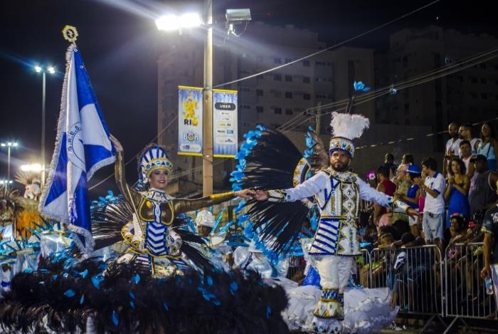 A Unidos da Ponte venceu a Série B no Carnaval de 2018 e subiu para a Série A