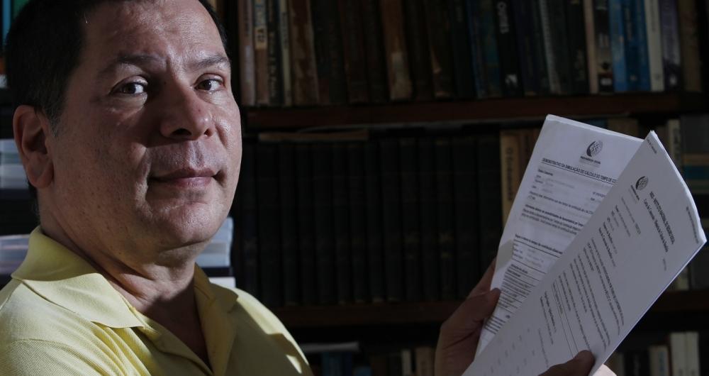 José Milton Soares Zaranza aguarda desde 2011 a inclusão dos adicionais de insalubridade por ser avaliador de penhor na Caixa Econômica