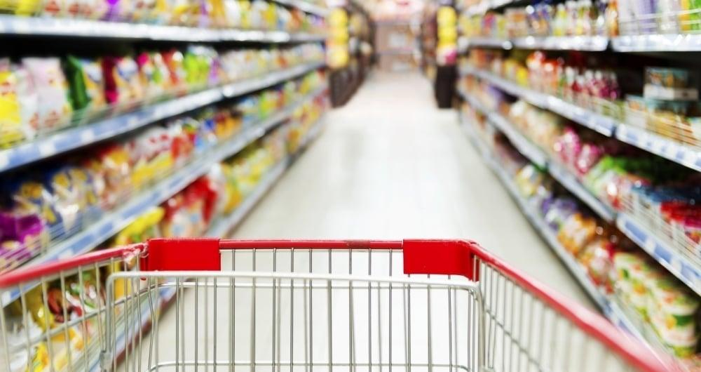 Supermercados tiveram destaque na alta do comércio varejista.