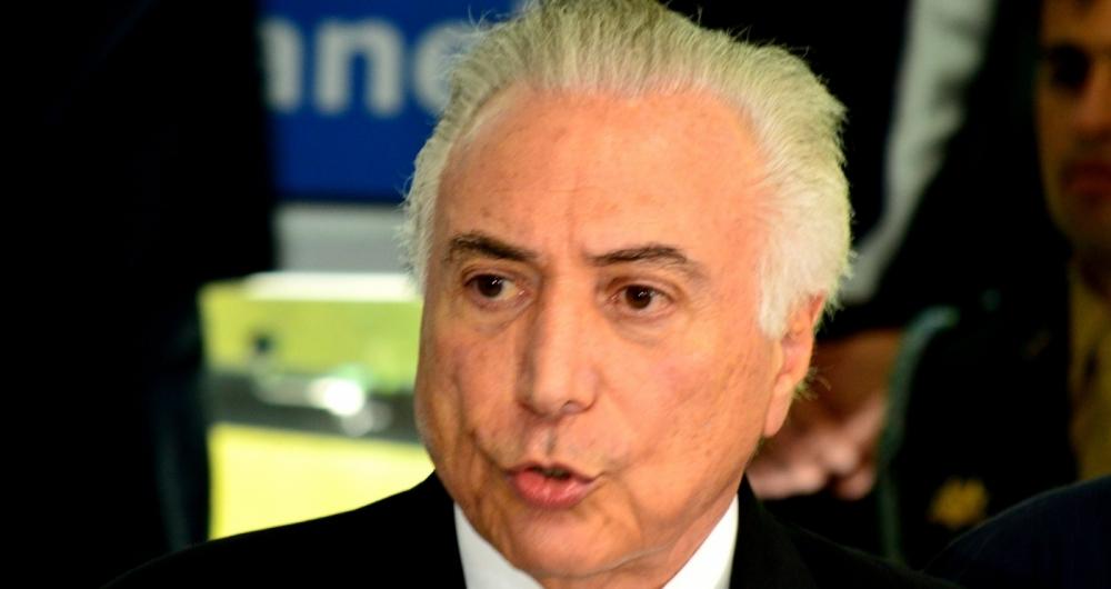 Temer se reuniu sábado com o governador Luiz Fernando Pezão, no Palácio Guanabara, Zona Sul do Rio