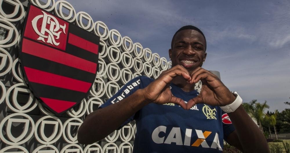 Vinicius Jr. pode deixar o Flamengo no meio do ano