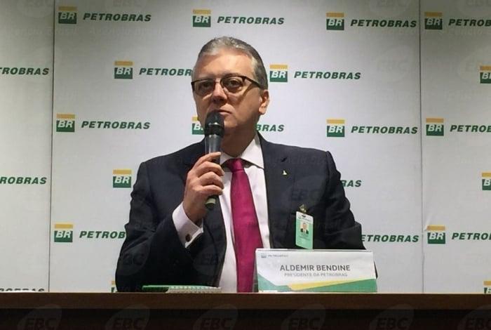 Ex-presidente do Banco do Brasil e da Petrobras, Aldemir Bendine