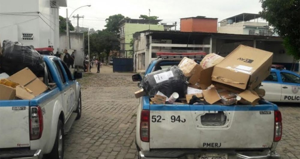 UPP recupera carga dos Correios no Arará