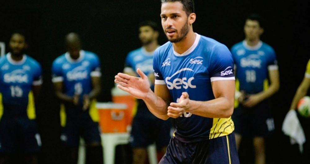 João Rafael vem acumulando prêmios de melhor jogador das partidas pelo Sesc RJ