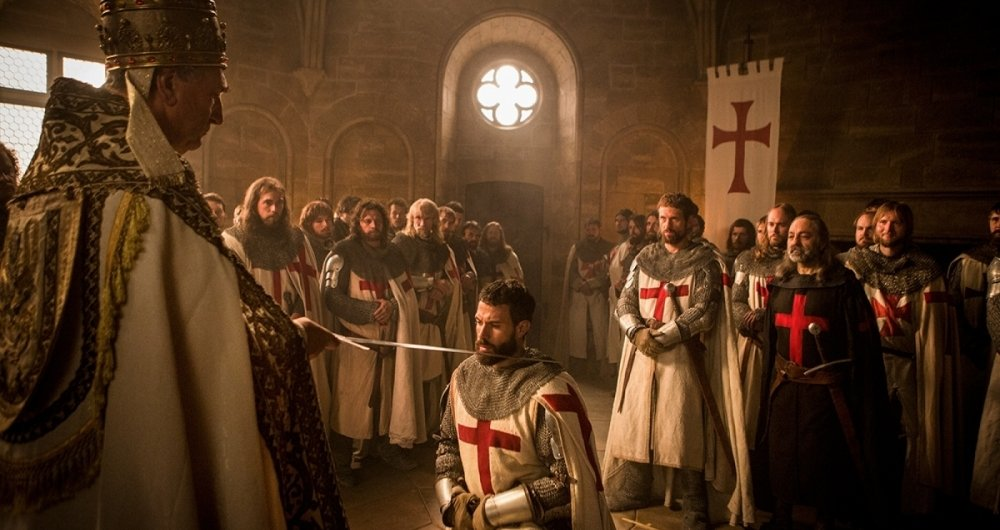 S�rie 'Knightfall - A Guerra do Santo Graal' - Tom Cullen � o cavaleiro Landry, protagonista da s�rie