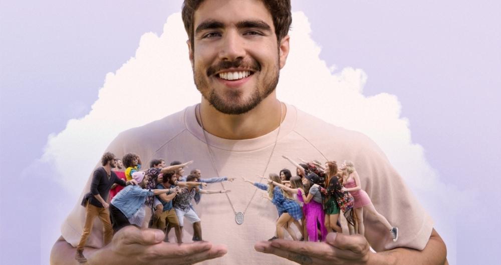 Fotomontagem de Caio Castro com participantes do 'Are You The One?'