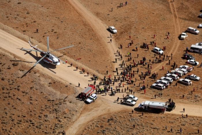 O avião ATR da companhia Aseman Airlines, que caiu na Cordilheira de Zagros, foi achado nesta segunda-feira