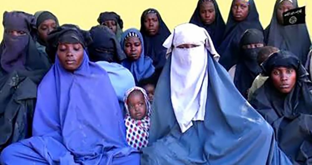 Militantes do Boko Haram.