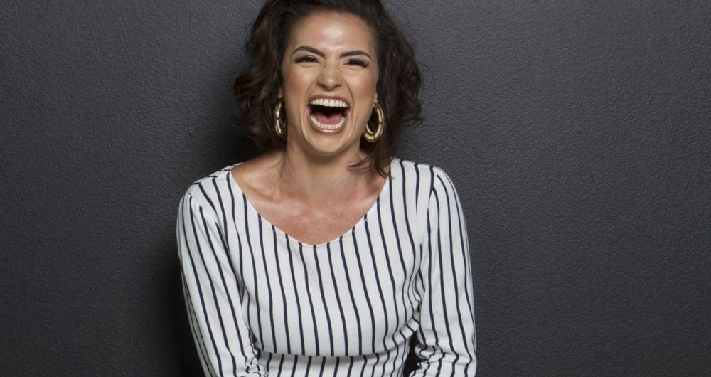 Gaby Haviaras adora garimpar roupas e montar looks