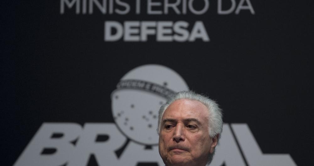 Recentes a��es de Temer reacendeu uma possibilidade de disputa por um novo mandato