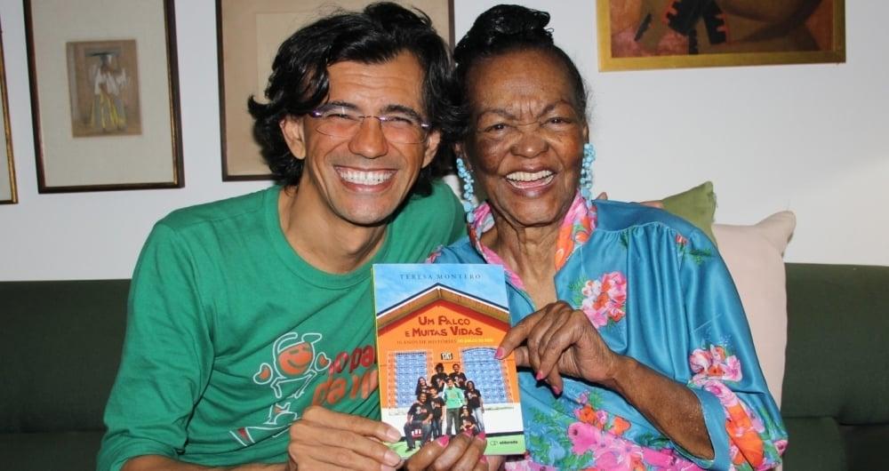 Wal Schneider e Ruth de Souza