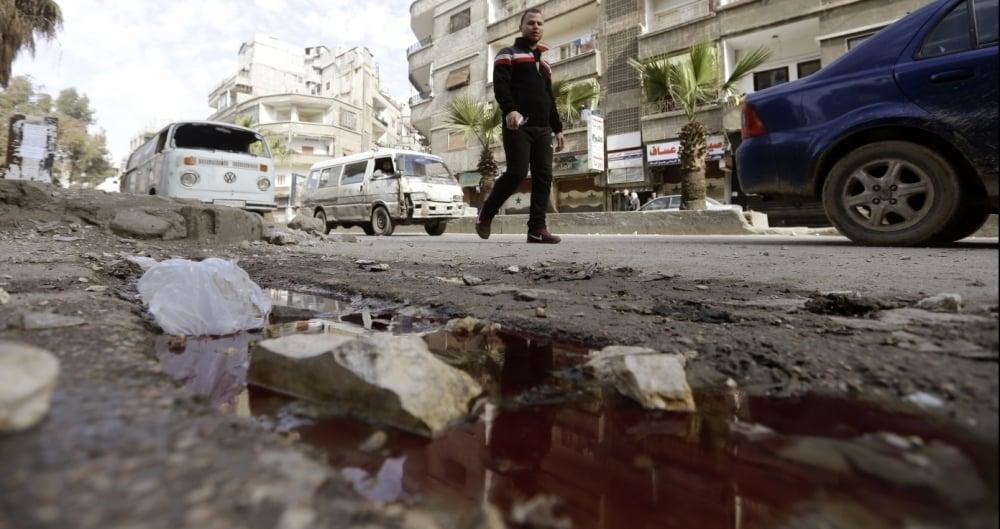 Bombardeios na S�ria j� deixaram centenas de v�timas