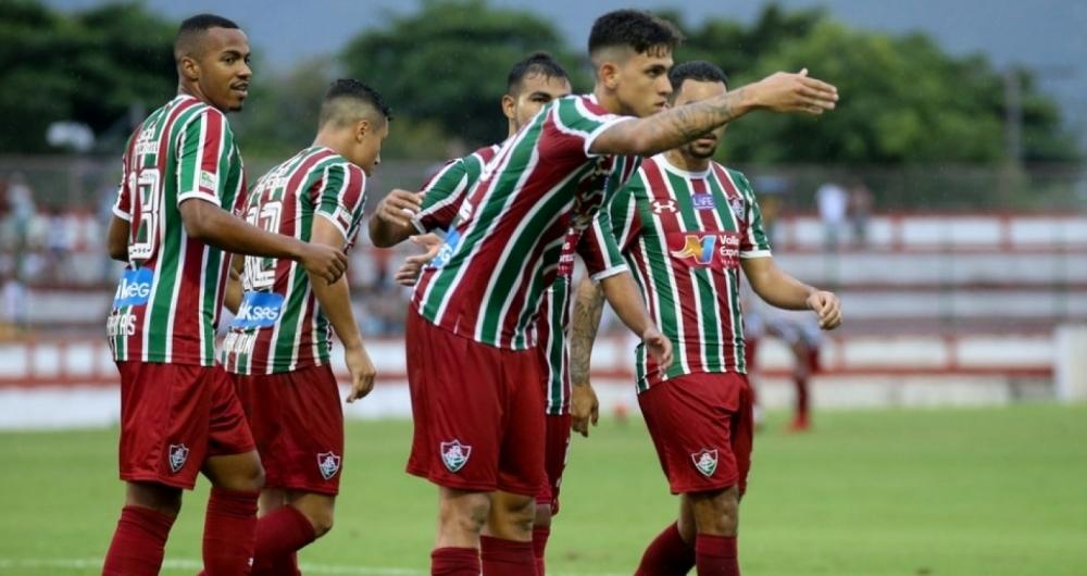 Fluminense goleou o Bangu na estreia da Taça Rio