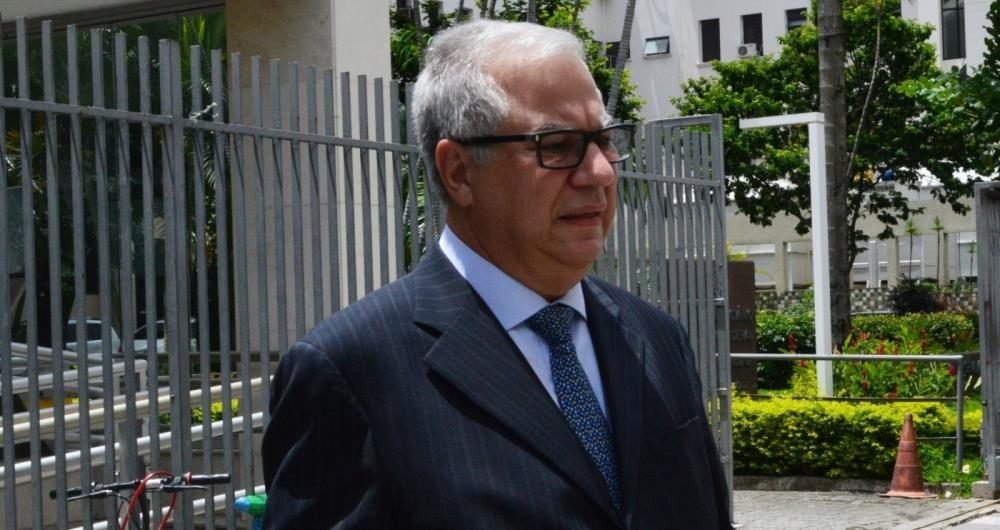 O doleiro Renato Chebar, que operou para o ex-governador Sérgio Cabral (PMDB)