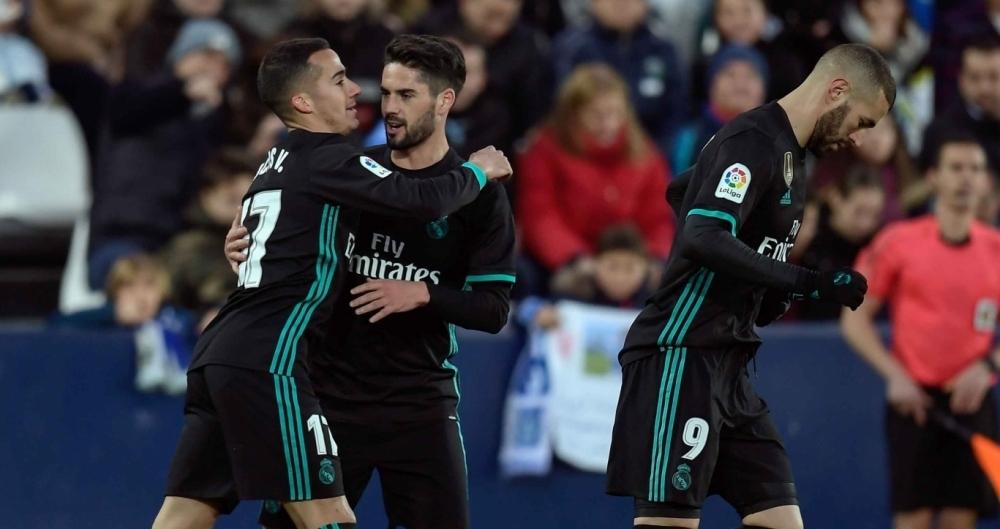 Real Madrid venceu no Espanhol