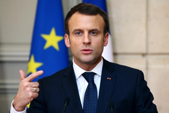 Presidente da Fran�a, Emmanuel Macron