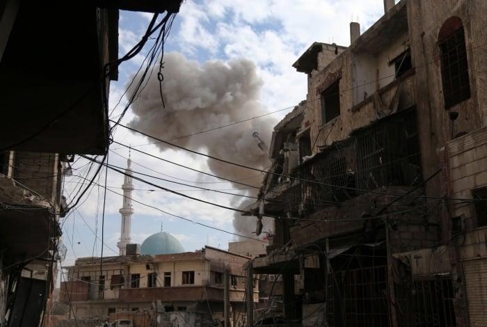 Bombardeios na Síria já deixaram centenas de vítimas