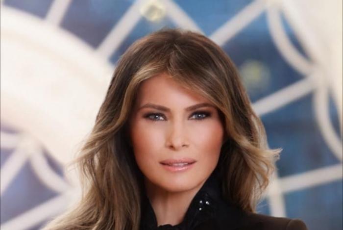 A primeira-dama americana, Melania Trump
