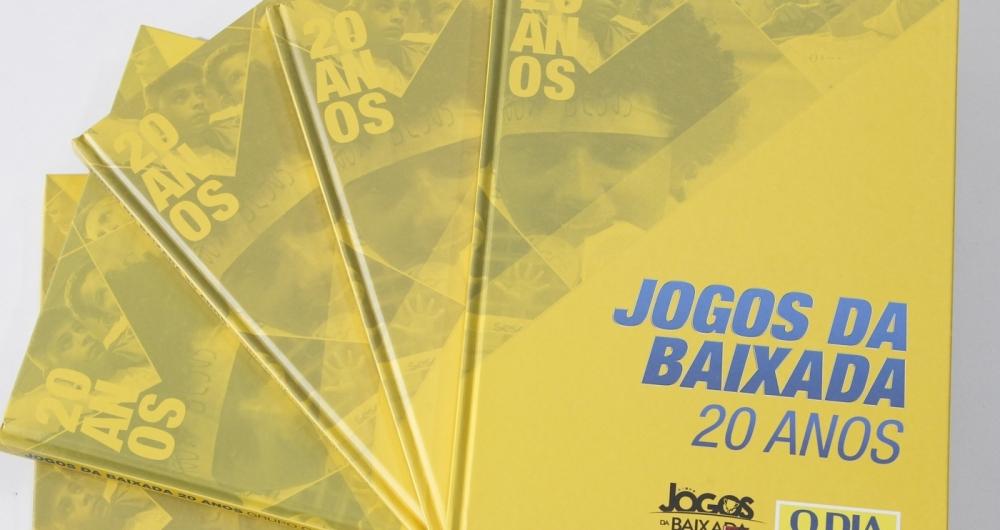 Jornal O DIA lança livro sobre os 20 anos dos Jogos da Baixada