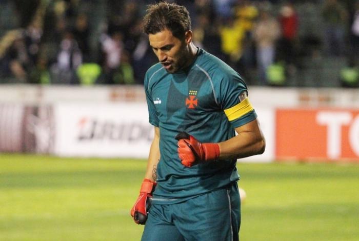 Martín Silva teve um ano de altos e baixos no Vasco
