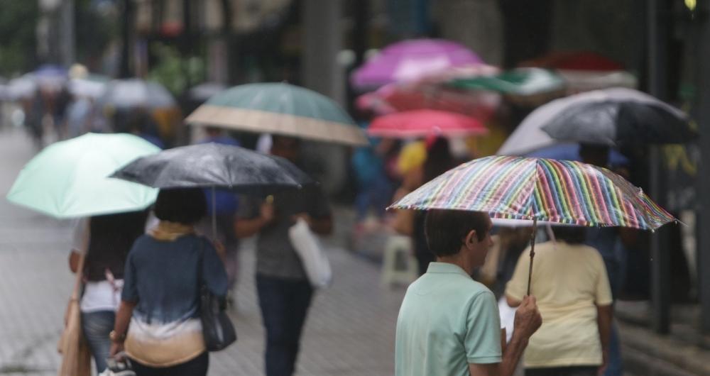 Rio tem previsão de chuva para as próximas horas